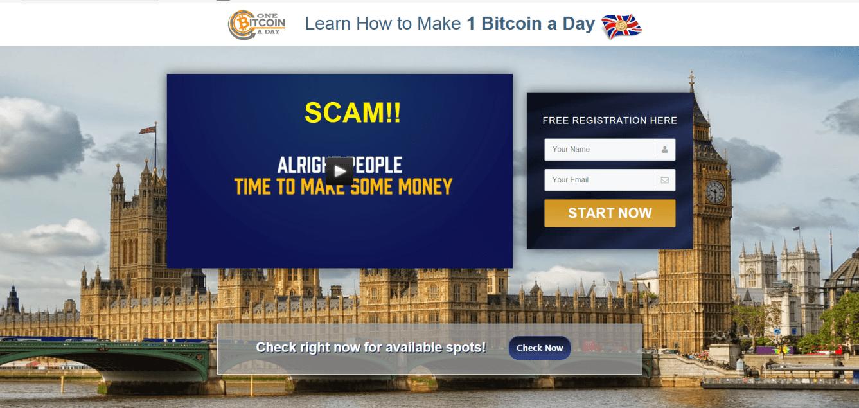 One Bitcoin a Day
