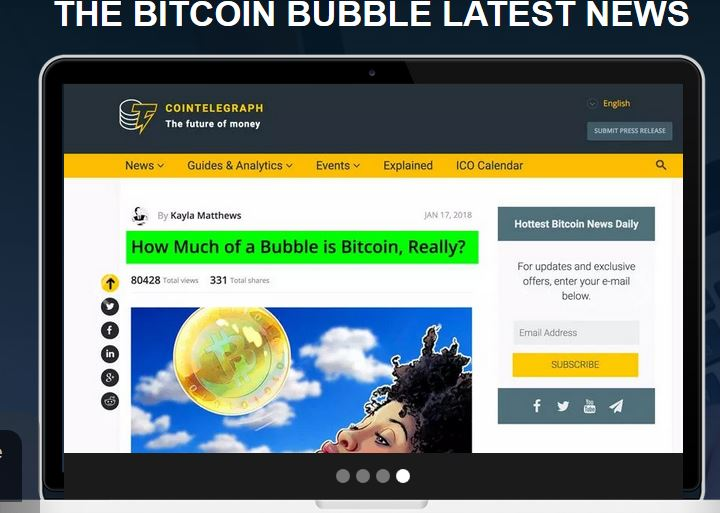 CoinBubble – Get Profits Of Over $700 Daily In Bitcoin Bubble!