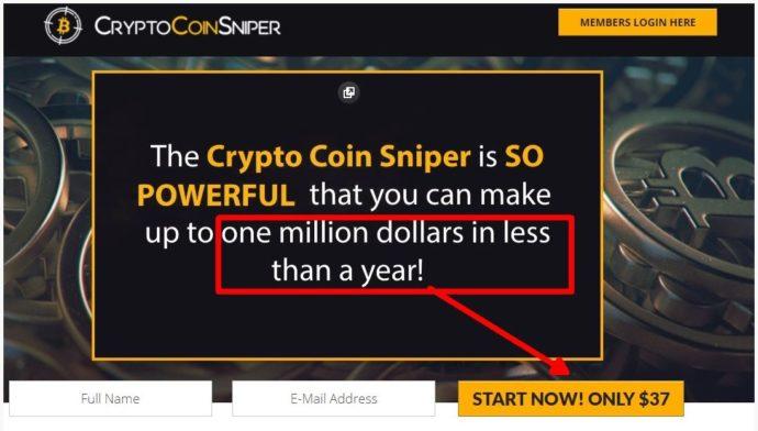 Crypto Coin Sniper 1