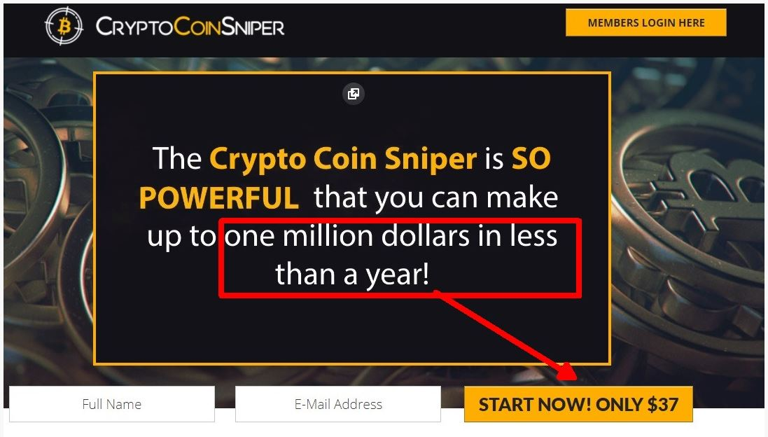 Crypto Coin Sniper Reviews – Legit Bitcoin Trading Software Or Scam?
