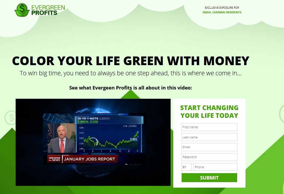 EverGreen Profits – Effective Crypto Trading Software or Another Scam?