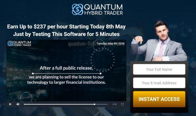 Quantum Hybrid Trader 2