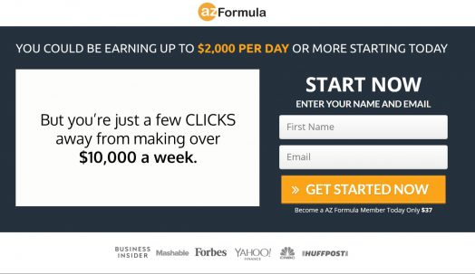 AZ Formula – Formula Is Legit Or Scam To Make $2000 Per Day?