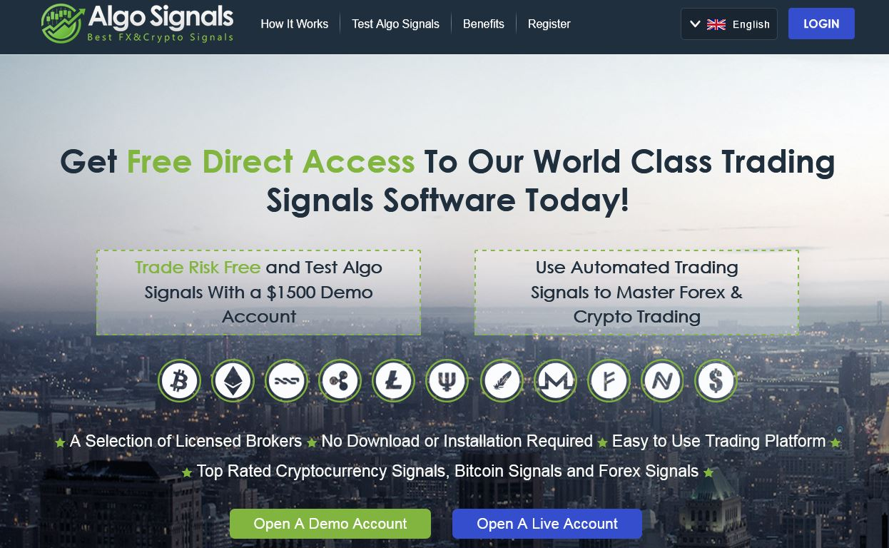 The Algo Signals Reviews 2018 – System for Best Crypto & Forex Signals!