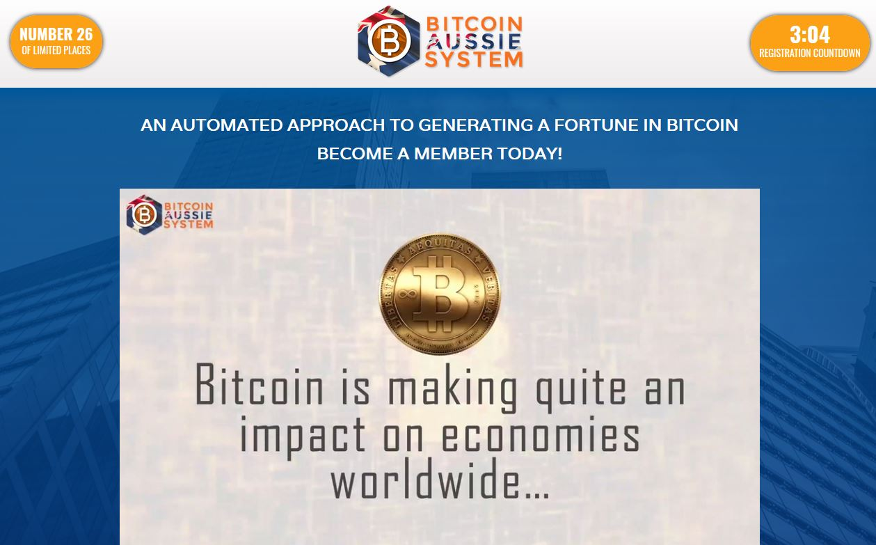 Bitcoin Aussie System Reviews (2019) – Future Ready Bitcoin Trading App!