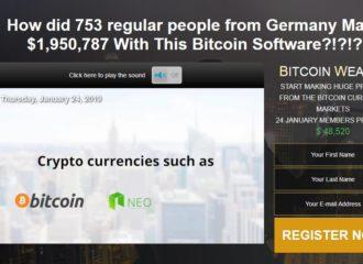 Bitcoin Wealth 1