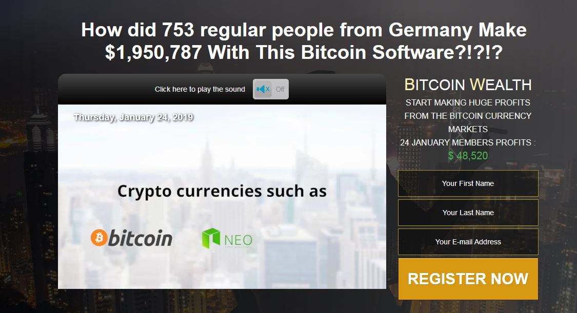 Bitcoin Wealth Software Reviews 2019 – Earn Money With Bitcoin Markets!
