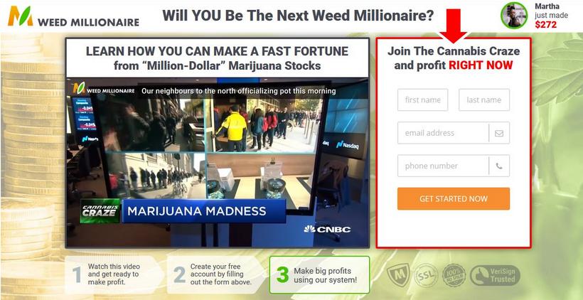 Weed Millionaire Crypto -2