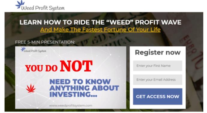 Weed Profits