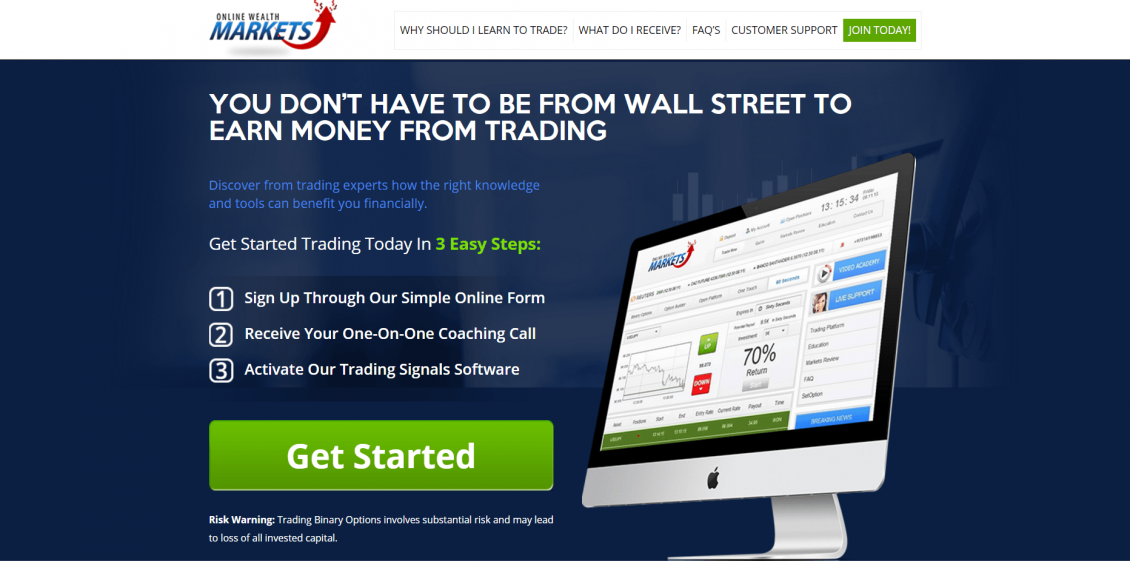 Online Wealth Markets Reviews – Is It Trading Application Work Or Scam?