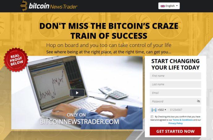 Bitcoin News Trader 1