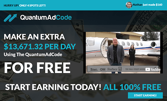 Quantum Ad Code Reviews – Make Make $13671.32 Per Day or Scam?