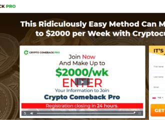 Crypto Comeback Pro